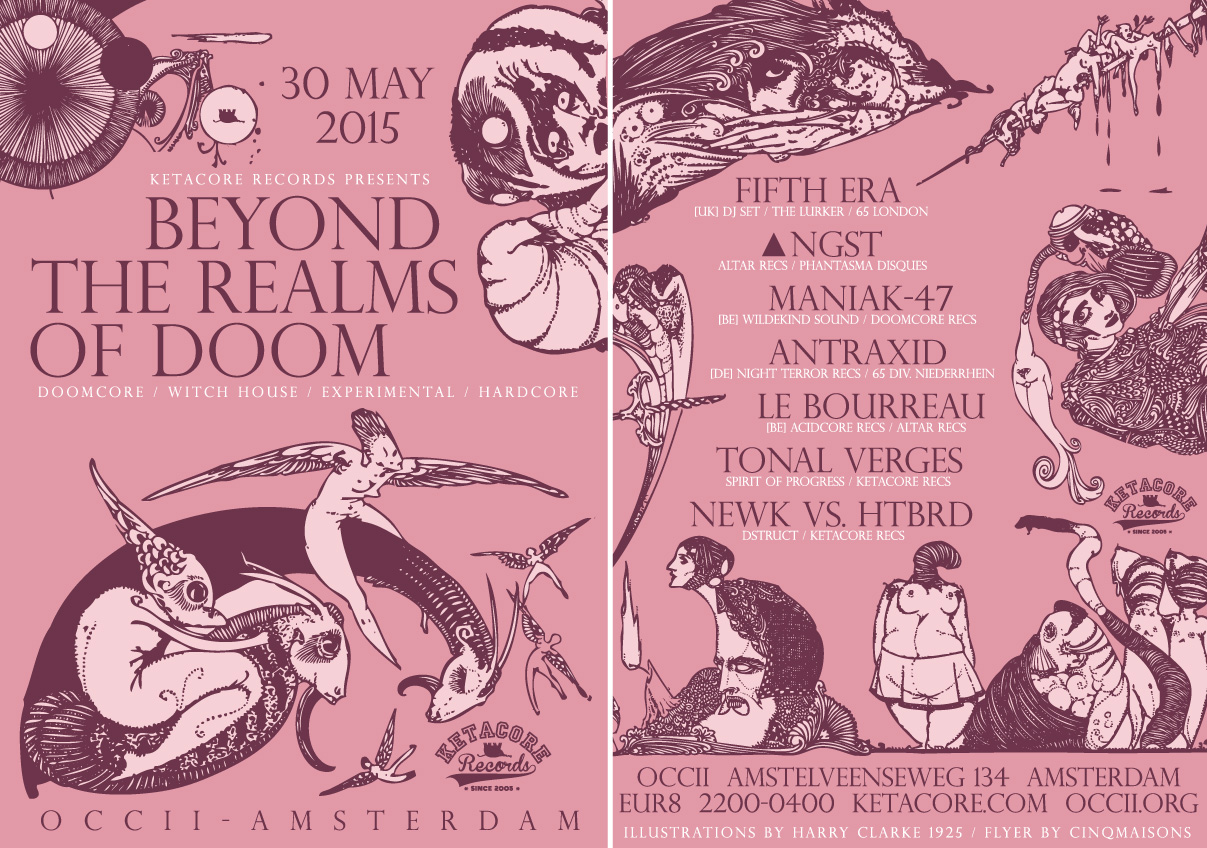 flyer: Beyond Realms of Doom 2015-05-30